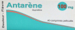 Antarene 100 mg, comprimé pelliculé
